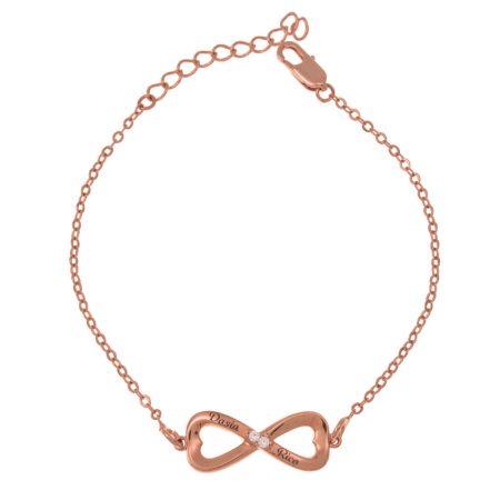 Bracelet Infini Incrusté