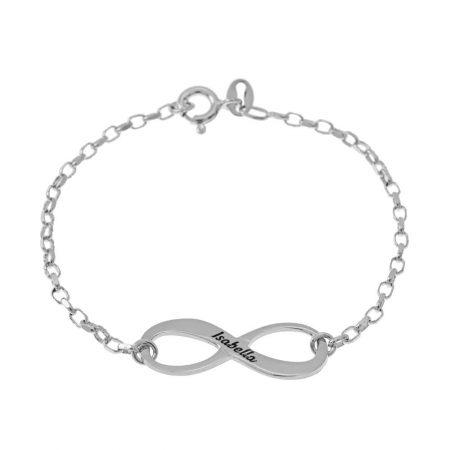 Bracelet Infini Gravé