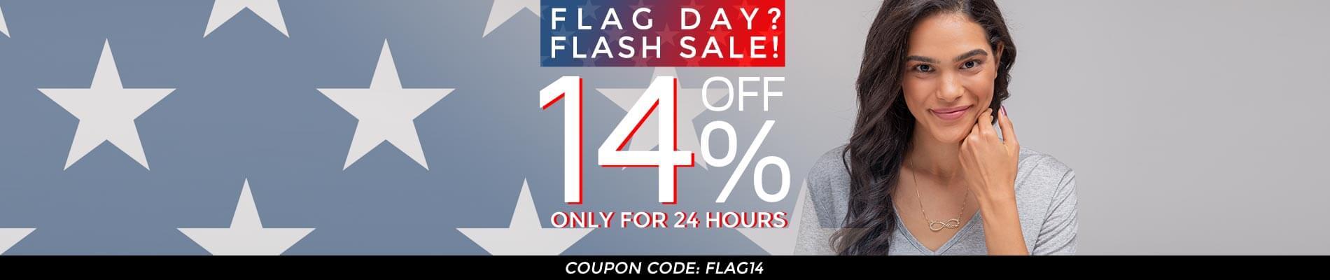 Flag Day Sale 14.06 Top banner desktop