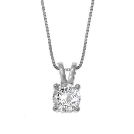 Collier en Zircone Taillé en Diamant