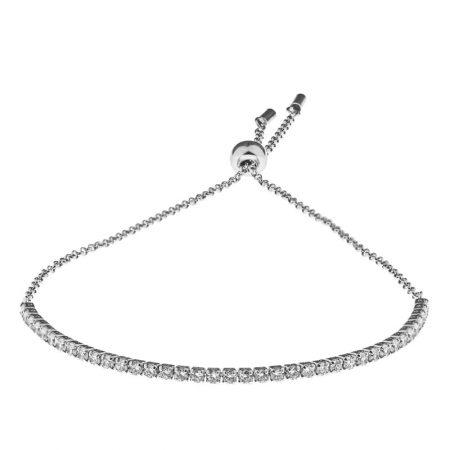 Bracelet de Tennis en Zircone Cubique